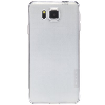 ФОТО Nillkin Transparent TPU Phone Protective Back Cover Case with Ultrathin Design for Samsung Galaxy Alpha G850F