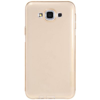 ФОТО Nillkin Transparent TPU Phone Protective Back Cover Case with Ultrathin Design for Samsung Galaxy E7 E700