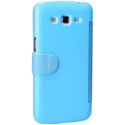 ФОТО Nillkin View Window Design Phone Protective Cover Case with PU and Plastic Material for Samsung Galaxy Grand 2 G7106