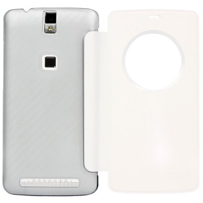 View Window Leather Protective Case for Elephone P8000