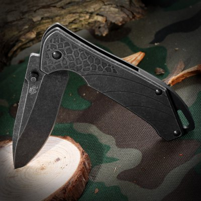 Sanrenmu 7089 LUI - SDW3 Foldable Knife with Clip and Liner Lock
