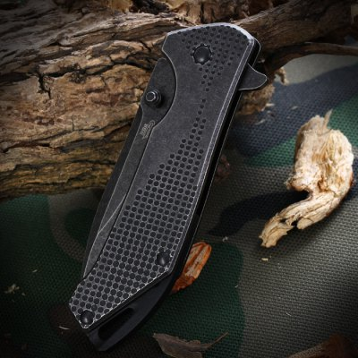 Sanrenmu 7089 LUI - SDW2 Folding Knife with Clip and Liner Lock