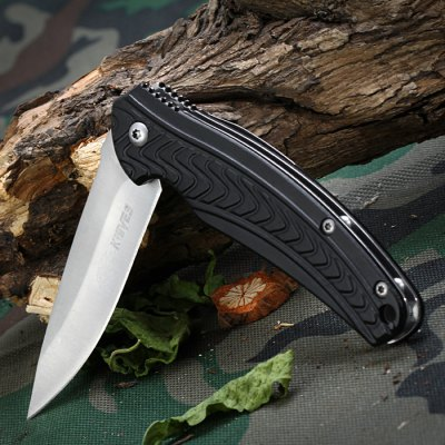 SR 0059B Mini Outdoor Folding Knife with Liner Lock and Clip