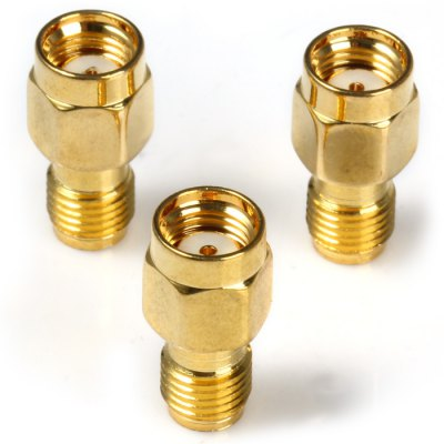 Здесь можно купить   SMA Male to SMA Female Plug RF Connector - 3PCS DIY Parts & Components