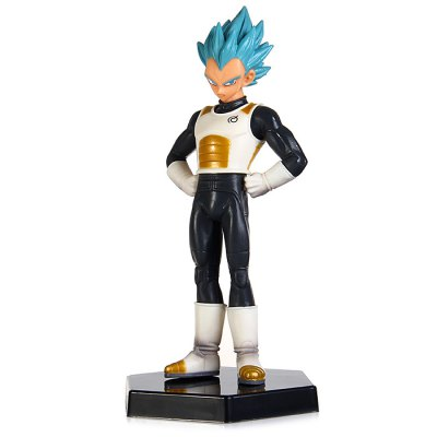 Dragon Ball Vegeta Figure with Base Set Mini