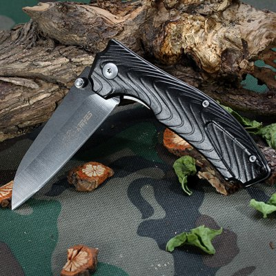SR 0249B Liner Lock Foldable Knife with Clip