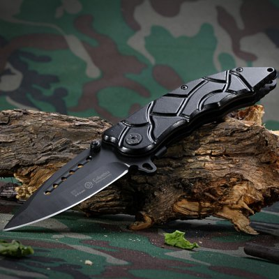 SR B418B Folding Knife with Liner Lock for Outdoor Adventure