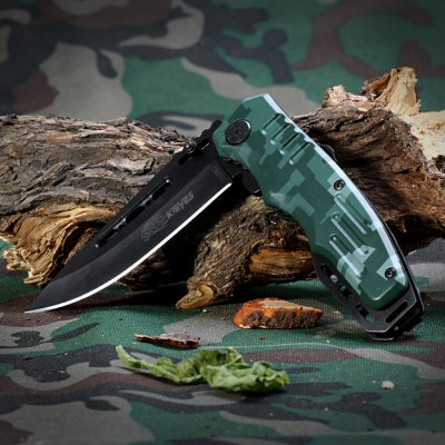 SR B428C Folding Knife with Liner Lock and Clip