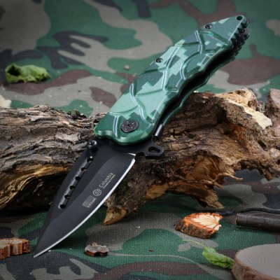 SR B418C Folding Knife with Liner Lock for Outdoor Adventure