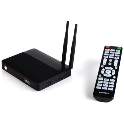 CSA91 TV BoxTV Box &amp; Mini PC<br>CSA91 TV Box<br><br>Model: CSA91<br>GPU: PowerVR G6110<br>System: Android 5.1<br>CPU: RK3368<br>Core: Octa Core<br>RAM: 2G<br>ROM: 16G<br>Max. Extended Capacity: 32G<br>Color: Black<br>Decoder Format: H.265,H.264<br>Video format: H.264,1080P,3GP,FLV,MP4,4K x 2K<br>Audio format: WMA,AAC,MP3,WAV<br>Support XBMC: Yes<br>Support 5G WiFi: No<br>Bluetooth: Bluetooth4.0<br>Power Supply: Charge Adapter<br>Interface: USB2.0,TF card,LAN,RJ45,OTG,WiFi Antenna,DC Power Port,Micro SD Card Slot,HDMI<br>Antenna: Yes<br>Product weight: 0.180 kg<br>Package weight: 0.650 kg<br>Product size (L x W x H): 14.000 x 11.000 x 2.200 cm / 5.512 x 4.331 x 0.866 inches<br>Package size (L x W x H): 17.000 x 15.000 x 17.000 cm / 6.693 x 5.906 x 6.693 inches<br>Package Contents: 1 x CSA91 TV Box, 1 x Power Adapter, 1 x HDMI Cable, 1 x IR Remote, 1 x English Manual