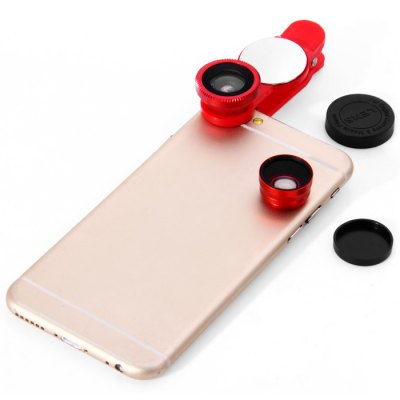 3-in-1 Mobile Phone Clip LensiPhone Lenses<br>3-in-1 Mobile Phone Clip Lens<br><br>Compatibility: HTC, Nokia, LG, Motorola, Blackberry, Samsung, Sony Ericsson, iPhone<br>Color   : Gold, Silver, Red, Black<br>Product weight : 0.024 kg<br>Package weight : 0.110 kg<br>Product size (L x W x H) : 7.4 x 2.8 x 2.2 cm / 2.91 x 1.10 x 0.86 inches<br>Package size (L x W x H) : 13.5 x 9.7 x 3.0 cm / 5.31 x 3.81 x 1.18 inches<br>Package Contents: 1 x  Composite Lens, 1 x Pouch