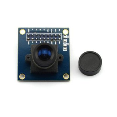 Jtron OV7670 VGA Camera ModulePower<br>Jtron OV7670 VGA Camera Module<br><br>Type: 300KP VGA Camera Module<br>Material: Glass Fiber + Plastic + Iron<br>Output Voltage: 2.5V to 3.0V<br>Output Power: 60mW / 15fps<br>Compatibility: Ardunio<br>Product Weight: 0.013 kg<br>Package Weight: 0.070 kg<br>Product Size(L x W x H): 3.5 x 3.4 x 2.6 cm / 1.38 x 1.34 x 1.02 inches<br>Package Size(L x W x H): 10 x 8 x 5 cm / 3.93 x 3.14 x 1.97 inches<br>Package Contents: 1 x Jtron OV7670 VGA Camera Module, 1 x Dust Cap