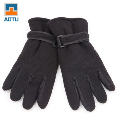 AOTU Unisex Winter Cycling Gloves Warm Keeping