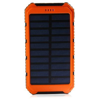 Гаджет   20000mAh Solar Powered Power Bank iPhone Power Bank