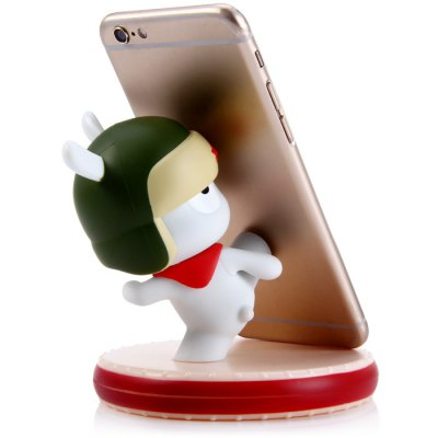 Original Xiaomi Kungfu MITU Version Stander Cell Phone Holder Stand - XiaomiStands &amp; Holders<br>Original Xiaomi Kungfu MITU Version Stander Cell Phone Holder Stand<br><br>Brand: Xiaomi<br>Compatibility: iPhone 4S, iPhone 6S, Universal, S4 mini I9190, iPhone 5, Samsung Note 5, Tab 3 10.1 (P5200/P5210), iPhone 6 Plus, Tab S 10.5, HTC, Samsung Galaxy S6 Edge Plus, Samsung Galaxy S6 Edge, Blackberry, S3<br>Material: ABS<br>Color: Assorted Colors<br>Product weight: 0.089 kg<br>Package weight: 0.198 kg<br>Product size (L x W x H) : 9.5 x 9.5 x 9 cm / 3.73 x 3.73 x 3.54 inches<br>Package size (L x W x H): 12.5 x 12.5 x 1 cm / 4.91 x 4.91 x 0.39 inches<br>Package Contents: 1 x Cell Phone Holder Stand