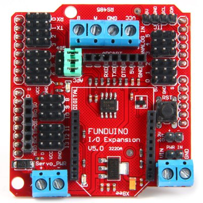 Гаджет   Funduino XBee Sensor Shield V5 Expansion Board Boards & Shields