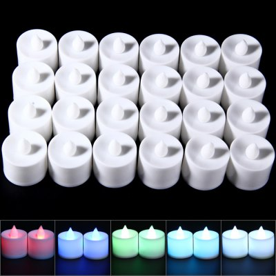 24PCS LED Candle Lamp