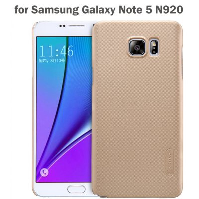 Nillkin PC Phone Protective Back Cover Case with Frosted Anti-skid Design for Samsung Galaxy Note 5 N9200