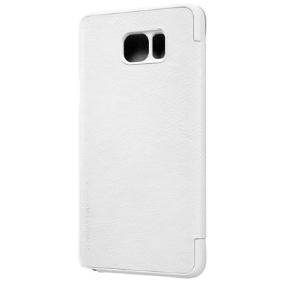 ФОТО Nillkin Card Holder Design Phone Protective Cover Case with PU and PC Material for Samsung Galaxy Note 5 N9200