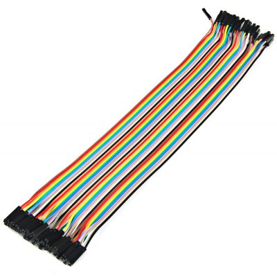 40PCS DuPont Female to Female Jumper Wire 30cm