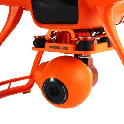 Фотография 5.8G Wingsland Scarlet Minivet High Definition 4MP Camera Remote Control Quadcopter FPV Aeromodelling