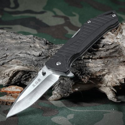 Sanrenmu 7089 SUX-PH Multi-Purpose Foldable Knife with Wire Cutter / Bottle Opener / Flat and Cross Screwdriver