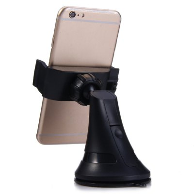 Universal 360 Degree Rotatable Phone Holder BracketStands &amp; Holders<br>Universal 360 Degree Rotatable Phone Holder Bracket<br><br>Compatibility: iPhone 5/5S, MOTO, Samsung Note 5, LG, Sony, iPhone 4/4S, HTC ONE M9, iPhone 6S, Samsung S6 Edge Plus<br>Type: Sucker Stand, Mobile Holder, In-Car<br>Material  : Plastic, Silicone<br>Features: Rotatable<br>Color: Red, Black<br>Product weight: 0.088 kg<br>Package weight: 0.169 kg<br>Product size (L x W x H): 6.5 x 6.5 x 7 cm / 2.55 x 2.55 x 2.75 inches<br>Package size (L x W x H): 9.5 x 10 x 7.5 cm / 3.73 x 3.93 x 2.95 inches<br>Package Contents: 1 x Phone Holder Bracket