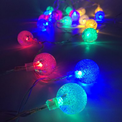 String Lights Typo : 3.5M 20 Bubble Ball LED String Light-6.66 Online Shopping GearBest.com