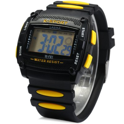 Lasika WF81 LED Sports Watch