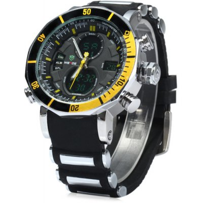 Weide Japan Dual Movt LED Sports Watch