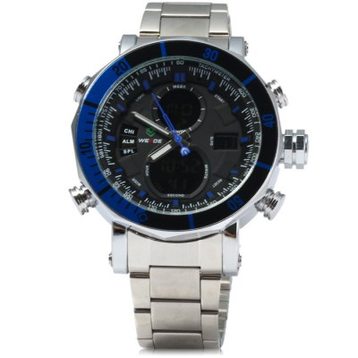 Гаджет   Weide Japan Double Movt LED Sports Watch Sports Watches