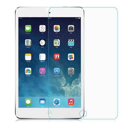 Ultra-thin HD Toughened Tempered Glass Screen Protector with 9H Hardness 2.5D Arc Edge Fitting for iPad Air / iPad Air 2