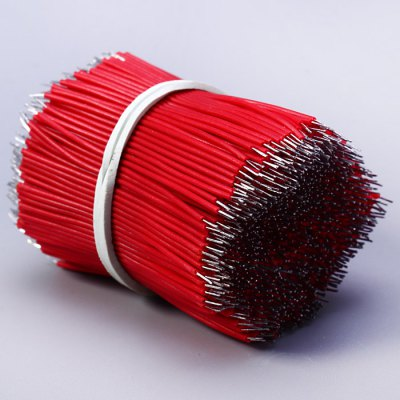 1000PCS 100mm Double Tinning ConductorsDIY Parts &amp; Components<br>1000PCS 100mm Double Tinning Conductors<br><br>Type: Electric Components<br>Compatibility: Ardunio<br>Product Weight: 0.040 kg<br>Package Weight: 0.051 kg<br>Package Size(L x W x H): 10.00 x 7.00 x 3.00 cm / 3.93 x 2.75 x 1.18 inches<br>Package Contents: 1000 x Double Tinning Conductors
