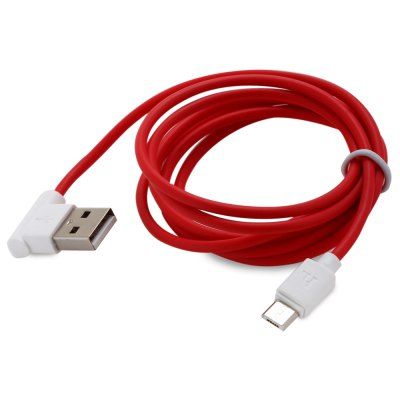 HOCO UPM10 L-shaped 1.2M Micro USB to USB Data Charging Cable