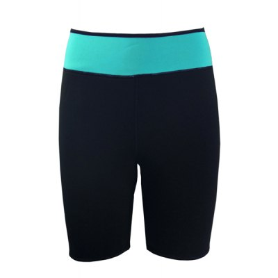 ФОТО Sexy Long Leg Tummy Control Slimming Color Block Women