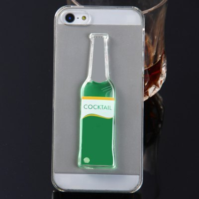 3D Liquid Flow Cocktail Bottle Cover Case for Apple iPhone 5 5SiPhone Cases/Covers<br>3D Liquid Flow Cocktail Bottle Cover Case for Apple iPhone 5 5S<br><br>Compatible for Apple: iPhone 5/5S<br>Features: Back Cover, Bumper Frame<br>Material: PC<br>Style: Transparent, Novelty<br>Color: Gold, White, Pink, Blue, Green<br>Product weight : 0.021 kg<br>Package weight : 0.040 kg<br>Product size (L x W x H): 12.5 x 6.0 x 1.0 cm / 4.91 x 2.36 x 0.39 inches<br>Package size (L x W x H) : 13.0 x 6.5 x 1.5 cm / 5.11 x 2.55 x 0.59 inches<br>Package contents: 1 x 3D Liquid Flow Cocktail Bottle Style Anti-slip Back Cover Case with Transparent Frame for iPhone 5 5S