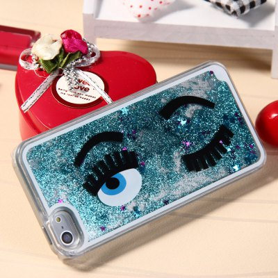 3D Blink Flow Quicksand Cover Case for Apple iPhone 5 5S