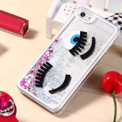 3D Liquid Blink Flow Quicksand Style Cover Case for iPhone 5 5S