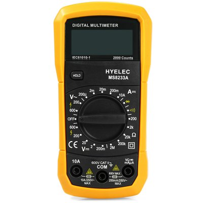 ФОТО HYELEC MS8233A Digital Multimeter