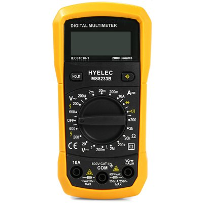 ФОТО HYELEC MS8233B Digital Multimeter