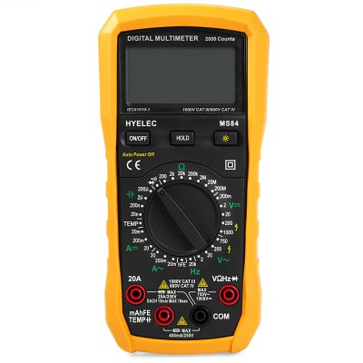 ФОТО HYELEC MS84 Digital Multimeter