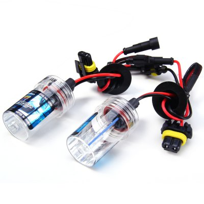 2pcs H11 12V 4000lm 55W 8000K Car HID Xenon Headlamp with Cool White Light