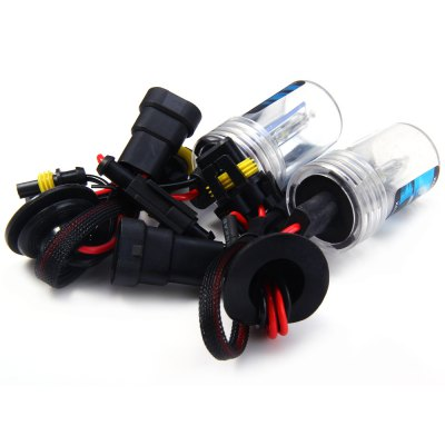 2pcs 9005 12V 4000lm 55W 8000K Car HID Xenon Headlamp with Cool White Light