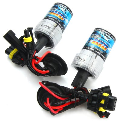 2pcs H7 12V 3600lm 35W 4300K Car HID Xenon Headlamp with White LightCar Lights<br>2pcs H7 12V 3600lm 35W 4300K Car HID Xenon Headlamp with White Light<br><br>Type   : Headlights<br>Connector: H7<br>Feature: Low Power Consumption, High Output, Easy to use<br>Emitting color : White<br>Color temperature: 4300K<br>Voltage : 12V<br>Power : 35W<br>Lumens: 3600lm<br>Type of lamp-house : Xenon<br>Apply lamp position: External Lights<br>Product weight   : 0.112 kg<br>Package weight   : 0.18 kg<br>Product size (L x W x H)  : 8 x 3.2 x 4 cm / 3.14 x 1.26 x 1.57 inches<br>Package size (L x W x H)  : 16 x 11 x 5.5 cm / 6.29 x 4.32 x 2.16 inches<br>Package Contents: 2 x H7 35W 3600lm 4300K White Light HID Xenon Car Headlamp
