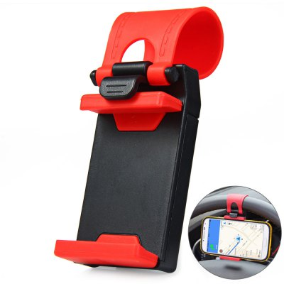 Car Steering Wheel Phone Mount Holder