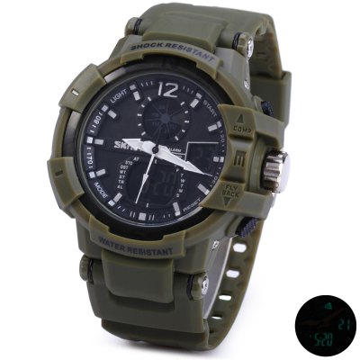 Skmei 1040 Dual Movement LED Watch
