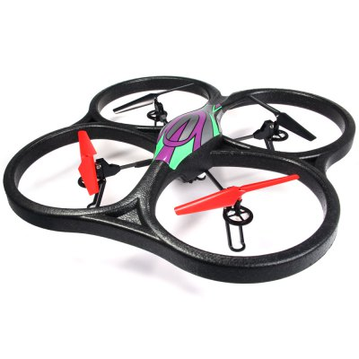 ФОТО WLtoys V666 5.8G FPV 6 Axis 2.4G RC Quadcopter with HD Camera Monitor RTF - US Plug