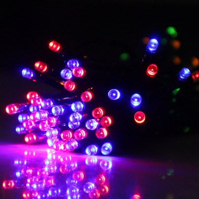 15m 100 LED Christmas Solar String LightChristmas Supplies<br>15m 100 LED Christmas Solar String Light<br><br>Color: Blue,Green,Multi-color,White<br>Material: PVC, Plastic, Electronic Components<br>Package Contents: 1 x Christmas Props 15m 100 LEDs Solar String Light Xmas Tree Decors Festival Supplies, 1 x Ground Plug<br>Package size (L x W x H): 17.00 x 9.00 x 10.00 cm / 6.69 x 3.54 x 3.94 inches<br>Package weight: 0.353 kg<br>Product weight: 0.259 kg<br>Usage: Christmas, New Year, Party, Performance, Stage