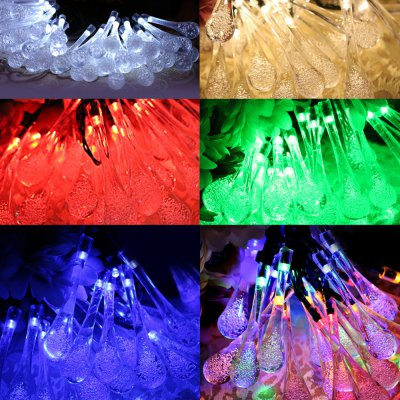 5m 20 LEDs Solar String Light for Xmas Party