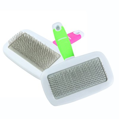 Pet Hair Fluffy Comb RemoverDog Grooming<br>Pet Hair Fluffy Comb Remover<br><br>For: Cats, Dogs<br>Material: Plastic, Rubber, Stainless Steel<br>Season: All Seasons<br>Color: Green, Pink<br>Product weight   : 0.051 kg<br>Package weight   : 0.120 kg<br>Product size (L x W x H)   : 13 x 10 x 2.5 cm / 5.11 x 3.93 x 0.98 inches<br>Package size (L x W x H)  : 24.5 x 15 x 4 cm / 9.63 x 5.90 x 1.57 inches<br>Package Contents: 1 x Pet Hair Fluffy Removal Comb Dog Cat Puppy Grooming Tool for Teddy Golden Retriever, 1 x Mini Comb